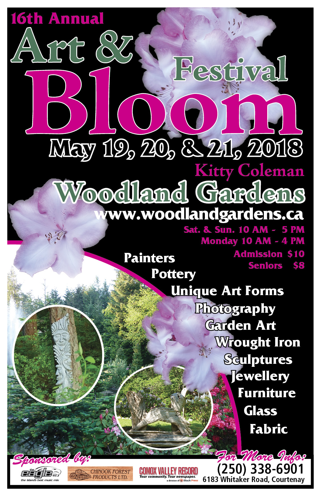 art and bloom poster